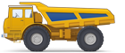 Dump Trucks with Enhanced Cross-Country Capacity