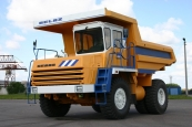 Mining dump truck BELAZ-7540А with payload capacity of 30 tonnes