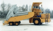 Slag carrier BELAZ-7920 with payload capacity of 80 tonnes