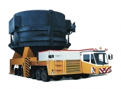 Heavy-load carrier BELAZ-7926 with payload capacity of 150 tonnes