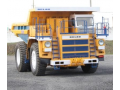 The first model of the mining dump truck BELAZ-75581 with payload capacity 90T with AC electromechanical transmission was assembled